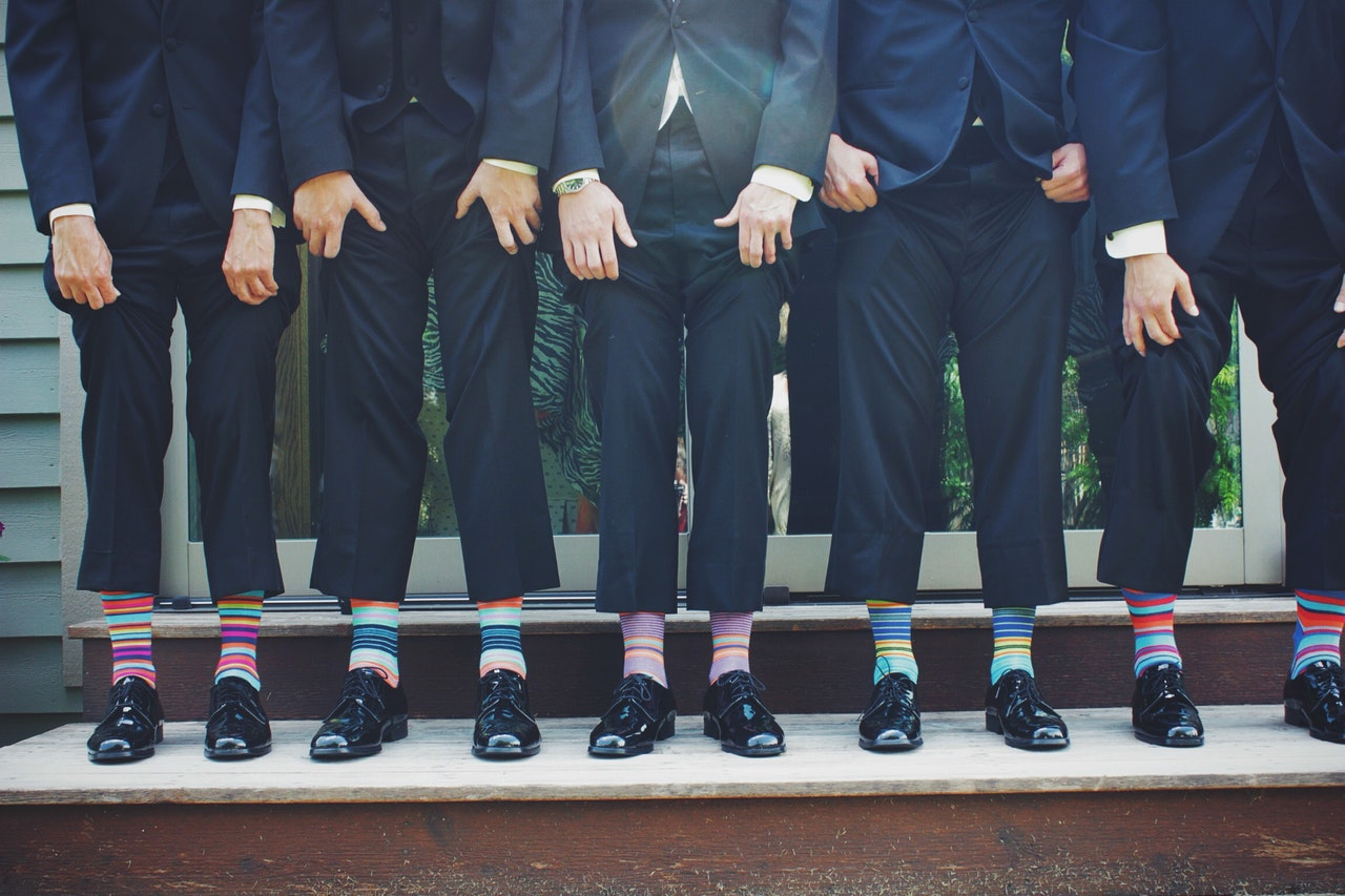 What socks to wear with a suit Business Bank UK